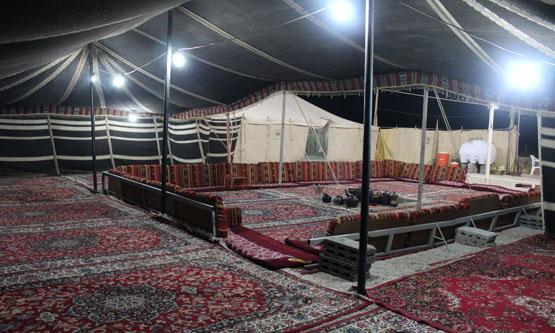 مخيمات في الرياض