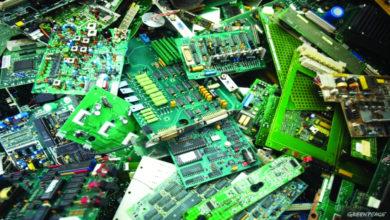 دراسة جدوى تدوير النفايات الالكترونية