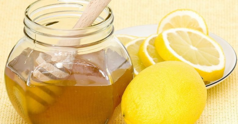 العسل والليمون للبرد