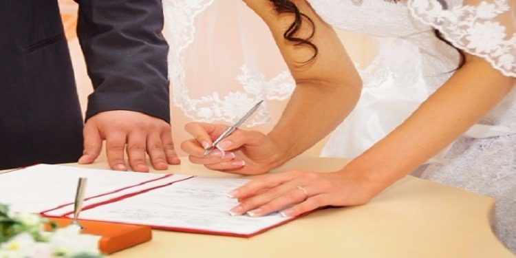 طريقة توثيق عقد زواج